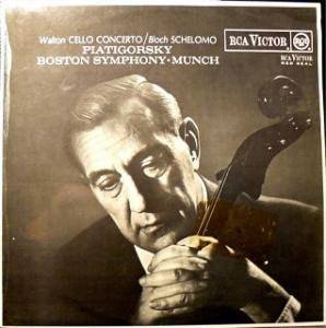 Cover - William Walton: Walton Cello Concerto / Bloch Schelmo