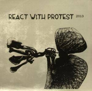React With Protest 2013 - Cover