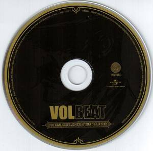 Volbeat: Outlaw Gentlemen & Shady Ladies (CD) - Bild 5
