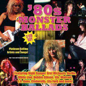 '80s Monster Ballads - Cover