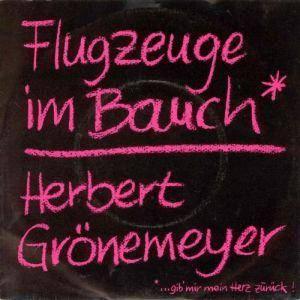 Herbert Grönemeyer: Flugzeuge Im Bauch - Cover