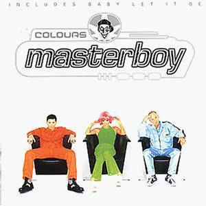 Cover - Masterboy: Colours