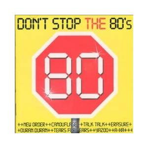 Don't Stop The 80's - Cover