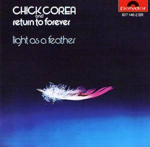 Return To Forever: Light As A Feather - Cover