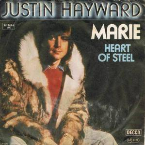 Cover - Justin Hayward: Marie