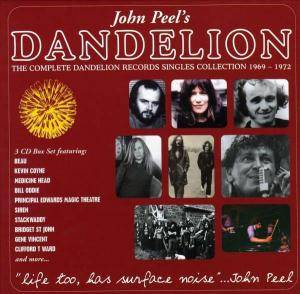 Cover - Siren: John Peel's Dandelion - The Complete Dandelion Records Singles Collection 1969-1972