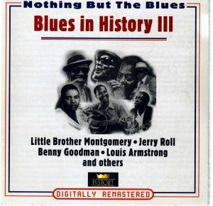 "Cover - Richard ""Rabbit"" Brown: Blues In History III"