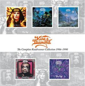 King Diamond: Complete Roadrunner Collection 1986 - 1990, The - Cover