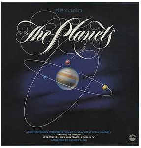 Rick Wakeman: Beyond The Planets (Featuring Jeff Wayne & Kevin Peek) - Cover