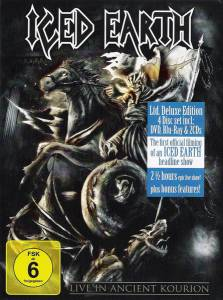Iced Earth: Live In Ancient Kourion (DVD + Blu-ray Disc + 2-CD) - Bild 4