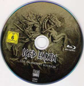 Iced Earth: Live In Ancient Kourion (DVD + Blu-ray Disc + 2-CD) - Bild 5