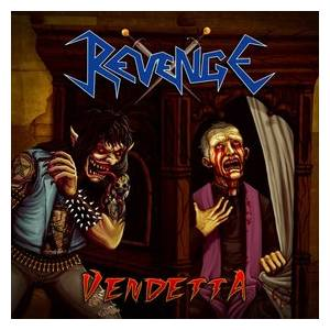Revenge: Vendetta - Cover