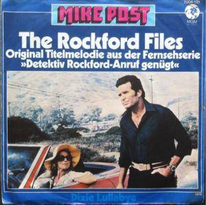 Cover - Mike Post: Rockford Files (Detektiv Rockford-Anruf Genügt), The