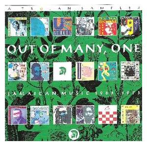 Cover - Tennors, The: Out Of Many, One - Jamaican Music1962 - 1975