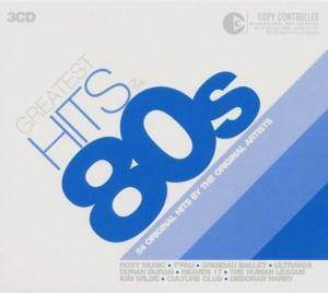 Greatest Hits Of The 80s - Cover