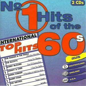 No. 1 Hits Of The 60's - Cover
