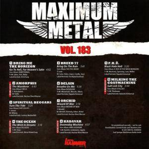 Metal Hammer - Maximum Metal Vol. 183 (CD) - Bild 2