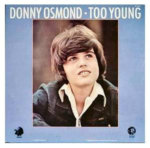 Donny Osmond: Too Young - Cover