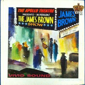James Brown: Live At The Apollo - Cover