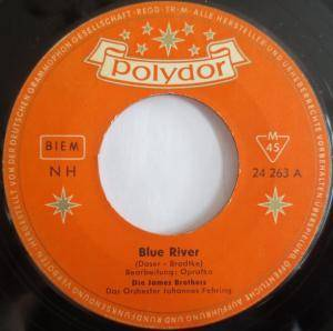 Cover - James Brothers, Die: Blue River