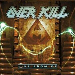 Overkill: Live From Oz - Cover