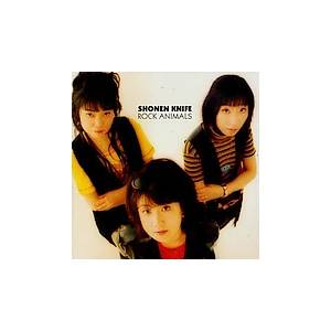 Cover - Shonen Knife: Rock Animals
