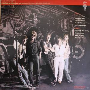 REO Speedwagon: Wheels Are Turnin' (LP) - Bild 3