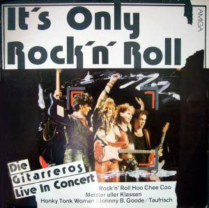 Cover - Gitarreros: It's Only Rock'n' Roll- Die Gitarreros Live In Concert