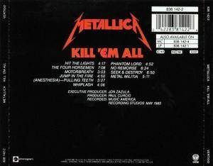 Metallica: Kill 'em All (CD) - Bild 2