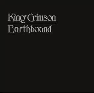 King Crimson: Earthbound - Cover