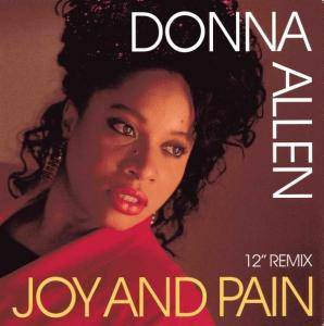 Donna Allen: Joy And Pain - Cover