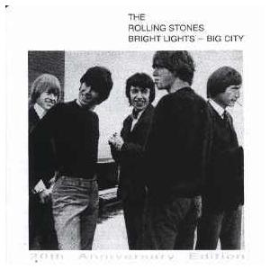 Rolling Stones, The: Bright Lights - Big City - Cover