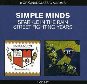 Cover - Simple Minds: Sparkle In The Rain / Street Fighting Years
