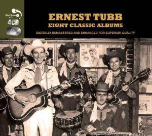 Cover - Ernest Tubb: Eight Classic Albums