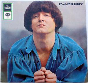 Cover - P.J. Proby: P. J. Proby