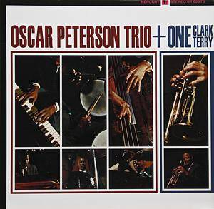 Oscar Peterson Trio: Oscar Peterson Trio+One, Clark Terry - Cover
