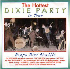 Cover - Monty Sunshine Jazz Band: Hottest Dixie Party In Town: Happy Bird Shuffle, The