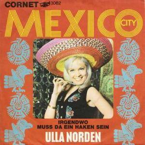 Cover - Ulla Norden: Mexico