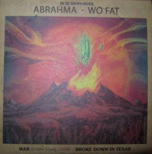 Abrahma: War / Broke Down In Texas - Cover