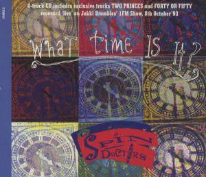 Spin Doctors: What Time Is It? - Cover