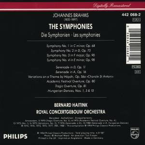 Johannes Brahms: The Symponies (4-CD) - Bild 2