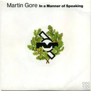 Cover - Martin L. Gore: In A Manner Of Speaking