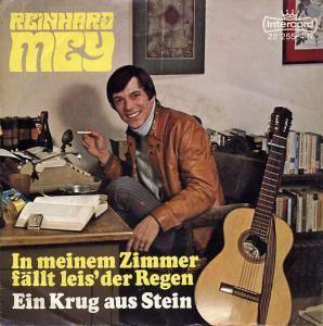 """Reinhard Mey: In Meinem Zimmer Fällt Leis' Der Regen (7"""") - Bild 1"""