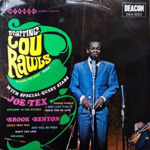 Cover - Brook Benton: Starring Lou Rawls Also Starring Joe Tex & Brook Benton