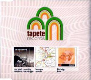 Cover - Besser: Tapete Records