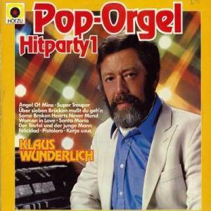 Klaus Wunderlich: Pop-Orgel Hitparty 1 - Cover