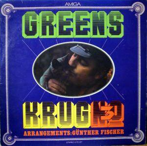 Manfred Krug: Greens - Krug No. 3 - Cover