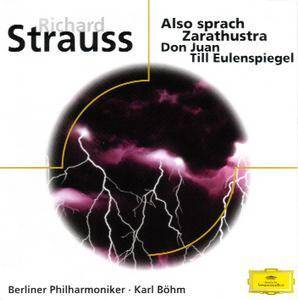 Richard Strauss: Also Sprach Zarathustra Op. 30 / Don Juan Op. 20 / Till Eulenspiegel Op. 28 - Cover