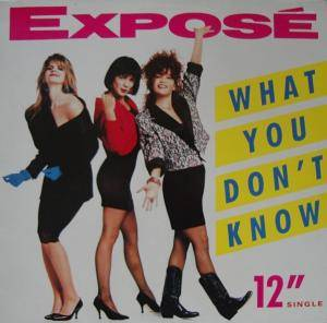 Cover - Exposé: What You Don't Know