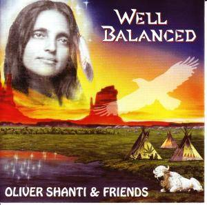 Cover - Oliver Shanti & Friends: Well Balanced